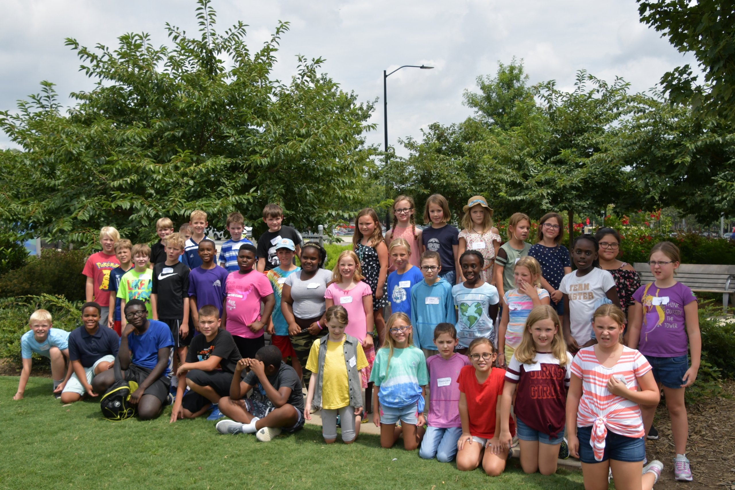 When you audition for our children's choir, you join a community of singers, seen here at Choir Camp in the summer. Open auditions help us find talented singers for our children's choir in Charlotte, NC near me